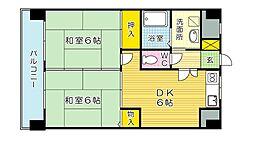 クレベールピア[2階]の間取り