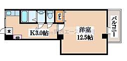 大宝島之内ロイヤルハイツ[2階]の間取り