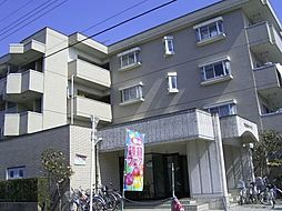 東京都羽村市緑ヶ丘2丁目の賃貸マンションの外観