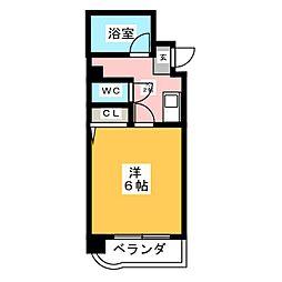 VIVIAN尾頭橋[6階]の間取り