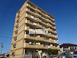 学戸スカイマンション[4階]の外観