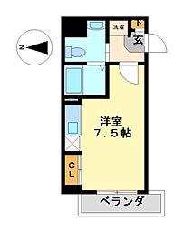 ライブコート丸の内[11階]の間取り