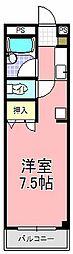 アスカ・F[207号室]の間取り