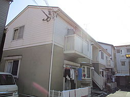 大阪府四條畷市米崎町の賃貸アパートの外観