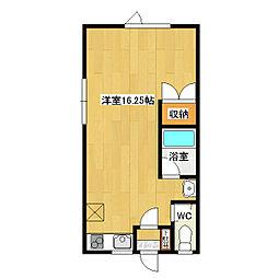 East side apartmentI[A号室]の間取り