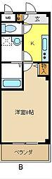 愛知県名古屋市天白区島田5の賃貸マンションの間取り