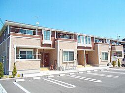 岡山県総社市総社の賃貸アパートの外観