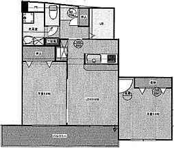 第1川崎ビル[3階]の間取り