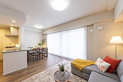 LDには足元からお部屋全体を暖めるガス温水式床暖房を設置