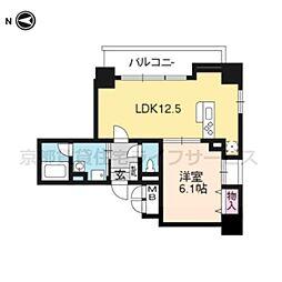 ALTA京都堀川ウインドア[9階]の間取り