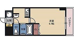 おおきに今福サニーアパートメント 旧グランデージ今福 5階1Kの間取り