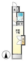 コスモポリタン90[5階]の間取り