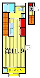 プリート[2階]の間取り