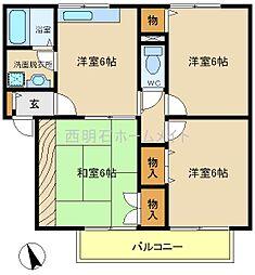 ソフィア清水[2階]の間取り