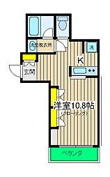 元町田澤リベラビル[4階]の間取り