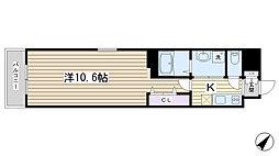 コルモラン巣鴨[402号室]の間取り