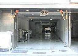 広島市中区幟町14の機械式駐車場