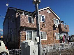 静岡県富士宮市小泉の賃貸アパートの外観