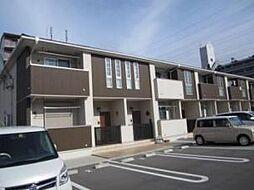 奈良県天理市二階堂上ノ庄町の賃貸アパートの外観