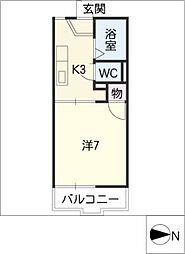TOWN若草[2階]の間取り