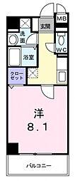 巽北ロイヤルマンション[3階]の間取り