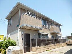 東京都国分寺市東恋ヶ窪5丁目の賃貸アパートの外観
