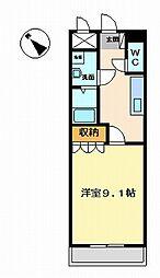 リュウズ[1階]の間取り