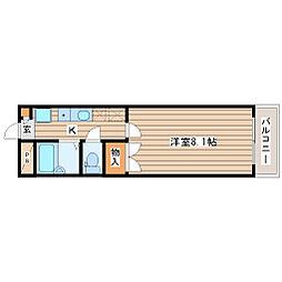 宮城県仙台市太白区柳生2丁目の賃貸マンションの間取り