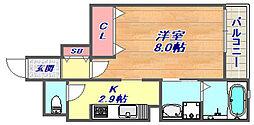 兵庫県神戸市東灘区本山南町7丁目の賃貸マンションの間取り