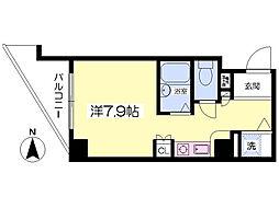 エムロード福島[204号室]の間取り