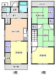 宇品2丁目駅 7.5万円