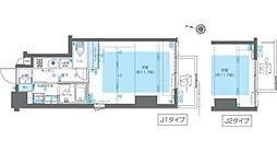 東京メトロ副都心線 北参道駅 徒歩7分の賃貸マンション 4階1Kの間取り