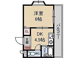 マ・メゾン[3階]の間取り