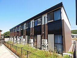 奈良県香芝市上中の賃貸アパートの外観