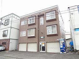 フォレストヒルズ東札幌[203号室]の外観