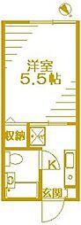 ピーチハウス[1階]の間取り