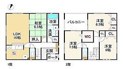 勢野北口駅 2,180万円