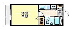 兵庫県神戸市垂水区平磯3丁目の賃貸マンションの間取り