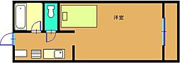 オレンジハウスA棟[2階]の間取り
