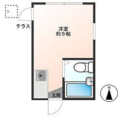寿町アパート[103号室]の間取り