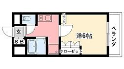 KT-9ビル[4階]の間取り