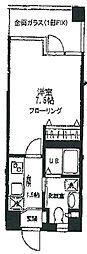 ガーデンハイム3[3階]の間取り