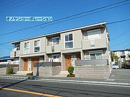 兵庫県三木市大村の賃貸アパートの外観