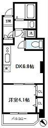 VIDA037[7階]の間取り