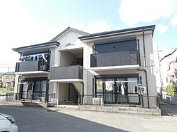和歌山県岩出市金池の賃貸アパートの外観