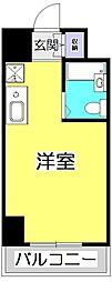 ヒルハウス コンフォートI[6階]の間取り