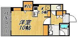 サンセーヌ舞鶴[5階]の間取り