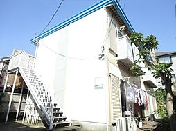 神奈川県横浜市神奈川区六角橋3丁目の賃貸アパートの外観