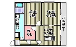 センティーレ和泉[301号室]の間取り