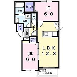 北海道札幌市東区北三十六条東5丁目の賃貸マンションの間取り